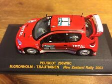 206 PEUGEOT WRC NEW ZEALAND RALLY 2003 World Rally Championship by ALTAYA i modelli