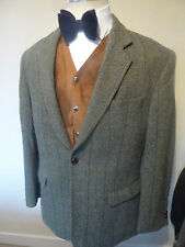 mens harris tweed sports jacket - size 42R good condition