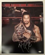 Roman Reigns Signed Autographed 16x20  Photo WWE The Guy JSA Sticker Only 9