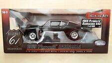 Plymouth Barracuda 440 (1969) scala 1/18 Highway 61 Collectibles. Very rare!!!