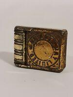 Vintage metal Bryant & May matchbox holder vesta case match Limited