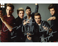 REPRINT - ONE DIRECTION 7 autographed signed photo copy reprint