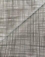 Cross Hatch Scribble Slate Orla Kiely lightweight Cotton NEW