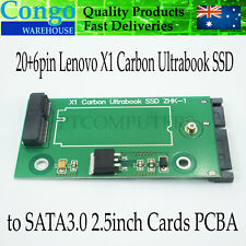 SSD Lenovo X1 Carbon Ultrabook SATA 20+6PIN to SATA3.0 for Sandisk 45N82 45N8296