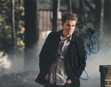 Paul Wesley Vampire Diaries Autographed Signed 8x10 Photo COA #2