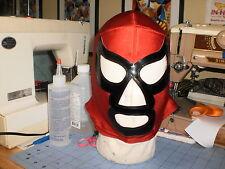 Red Assassin Pro Wrestling Mask (PRO-GRADE)