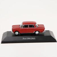 1/43 IXO FIAT 1500 (1963) Die Cast Car Modell seltene Kollektion