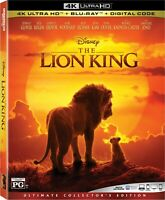 The Lion King (2019) (4K Ultra HD+Blu-ray) WITH SLIPCOVER **MINT**