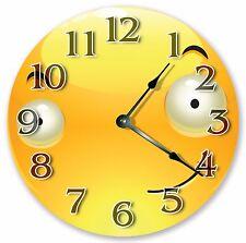 """10.5"""" FUNNY EMOJI CLOCK - Large 10.5"""" Wall Clock - Home Décor Clock - 3060"""
