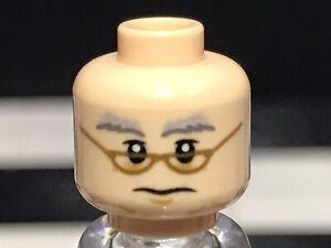 Lego Flesh Minifigure Head With Dual Face X1 Male / Boy / Guy / Spare