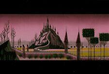 SLEEPING BEAUTY 1959, POSTCARD, CONCEPT ART BY EYVIND EARLE