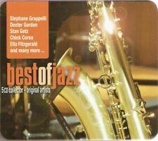 Best of jazz 5 CD collector - original artists boitier metallique neuf