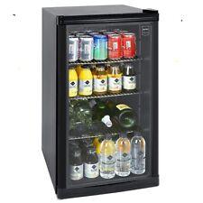 Glastürkühlschrank Glastürkühlbox Gastro GPC1088 88l 4°-18° Gewerbetauglich