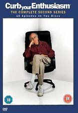 CURB YOUR ENTHUSIASM : Complete Second Season Larry David HBO Comedy DVD *EXC*