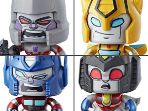 FREE SHIPPING! SET OF 4 Transformers Mighty Muggs Action Figure BY HASBRO
