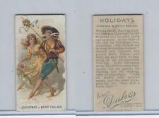 N80 Duke, Holidays, 1890, Christmas - England
