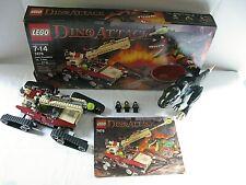 LEGO Dino Attack Iron Predator vs T-Rex 7476 Dinosaur Light Up 100% Complete