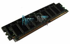 2GB 2x 1GB PC3200 DDR-400 Non ECC 184 pin DIMM RAM Desktop Memory Low Density