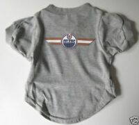 NEW! EDMONTON OILERS PET DOG HOCKEY T-SHIRT ALL SIZES