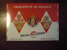 MONACO Serie Divisionale Ufficiale 2009 PRINCIPAUTE  NUMISMATICA SUBALPINA