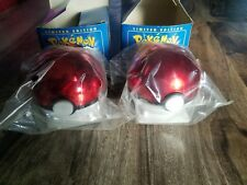Lot of 2 Pokemon Gotta Catch Em All Gold Plated Trading Card Pikachu + Poliwhirl