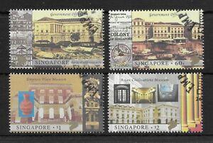 SINGAPORE *2003* compl.set 4 stamps * CTO - MNH** Asian Museum - Mi. 1207-10