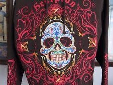 SCORPION Hoodie | Exo Calavera | Skull | Brown | Unisex | Death Day | Medium