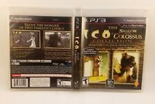 The Ico & Shadow of the Colossus Collection PlayStation 3 PS3 Complete Tested