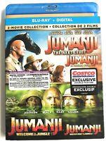 Jumanji: The Next Level Jumanji: Welcome to the Jungle Blu-ray + DIGITAL NEW