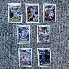 1992 Upper Deck lot of 7 #HR18 to 24,Bonds,Buhner, Nokes, Kruk etc. SEE PICTURES