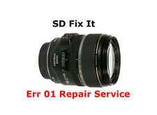 "Canon EF-S 17-85mm Lens ""Err 01"" Aperture Flex Replacement Repair Service"