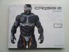 Crysis 2 Nano Edition Art Book - Large -  175 Pages - New - Rare Collectors Item