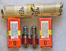 TELAM 6N8S 6SN7 5692 33S30B B65 EXTREMELY RARE TUBES NOS NIB MATCHED PAIR TESTED