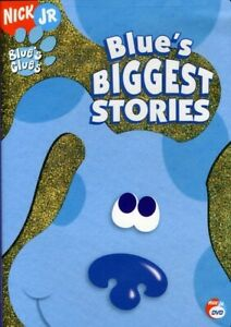 BLUE'S CLUES: BLUE'S BIGGEST STORIES NEW DVD