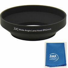 52mm Pro WIDE Hard Metal Lens Hood Fits Nikon AFS 18-55mm Panasonic 14-42 55-200