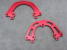 Pace Vintage RC35 MXC suspension Fork Bridges. Red