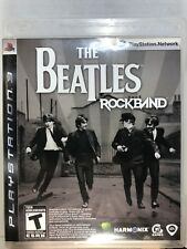 The Beatles: Rock Band (Sony PlayStation 3, 2009) COMPLETE FREE SHIPPING