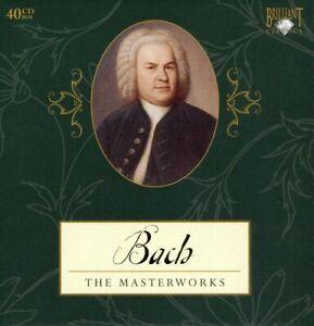 JS BACH The masterworks - Brilliant Classics - 40 CD