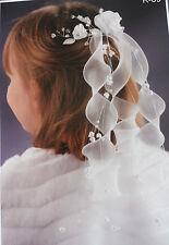 Kommunionkranz Haarkranz Exklusiv Haarschmück auf Kamm Hohzeit Kopfschmück  NEU