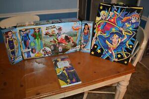 DC SUPER HERO GIRLS QUAD BIKE HARLEY QUINN POSION IVY WONDER WOMAN BATGIRL DEAL