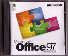 Microsoft Office 97 Professional Edition  w/key Word Excel Access PowerPoint