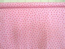 110cm Wide New by Dcf Cotton Fabric Navy Spot White Background Print Design