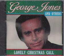 GEORGE JONES LONELY CHRISTMAS CALL Al Dexter Skeeter Red Sovine Warner   NEW CD