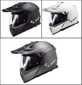 LS2 MX436 Pioneer Evo Adventure Motocross ATV Enduro Off Road Full Face Helmets