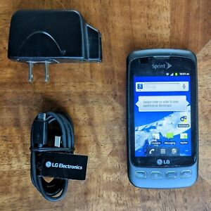 LG Optimus S LS670 - Gray (Sprint) Smartphone