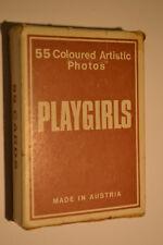 Spielkarten, Playgirls, 55 Karten, Piatnik, Wien 1970