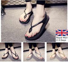Causal Fashion Ladies Girls Women Summer Sandal Slipper Flip Flop Beach Comfy
