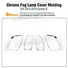 Foglight Chrome Cover Molding Trim LH+RH K-023 Fit KIA 2013-2014 Sorento R
