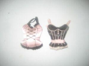 Vintage Miniature 1 1/2 x 2 Inch Victoria's Secret Bustier Corset Sachet Lot
