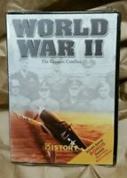 World War II The Greatest Conflict History Channel DVD w/Bonus WWII Sealed